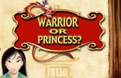 Mulan Warrior or Princess Game