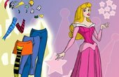 Sleeping Beauty Dressup Game