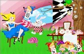 Alice In Wonderland Decoration Game