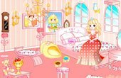 Princess Bedroom Make Over Game