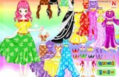 Sparkling Princess Dress-up Game