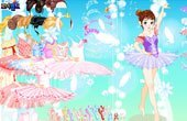 Ballerina Princess Dressup Game
