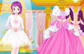 Golden Princess Dress Up Game