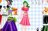Cartoon Princess Dress Up Game