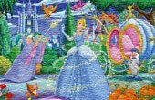 Cinderella & The Fairy Godmother Jigsaw Puzzle Game