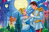 Cinderella Dancing With The Prince Jigsaw Puzzle Game