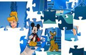 Cinderella With Mickey & Pluto Jigsaw Puzzle Game