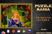 Princess Aurora Puzzle Mania Game